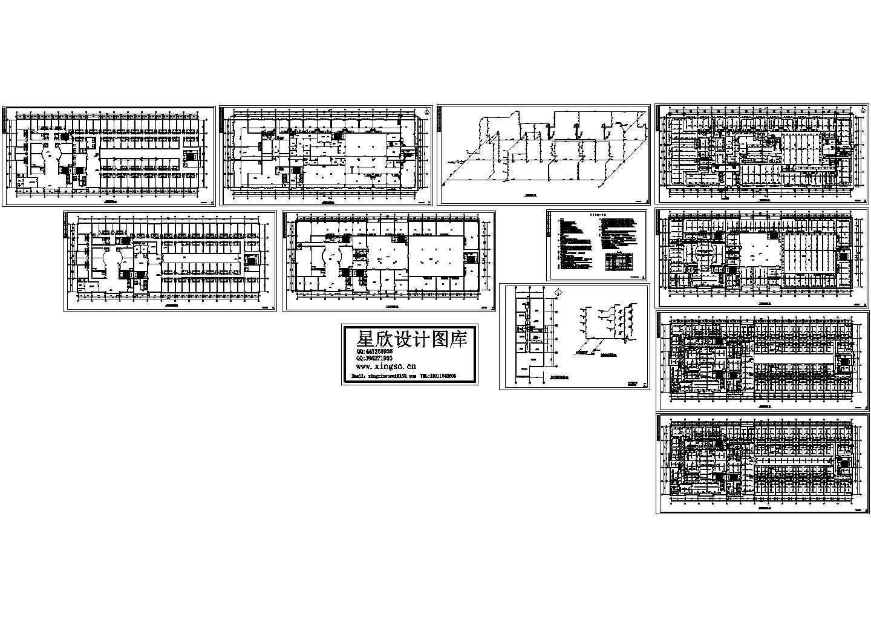 某地洗浴中心消防设计图图片1