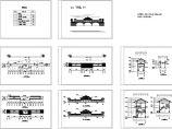 长83米 宽7.8米 一层沿江廊桥古建筑设计施工图图片1
