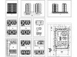 某市小高层住宅建筑方案设计图图片1