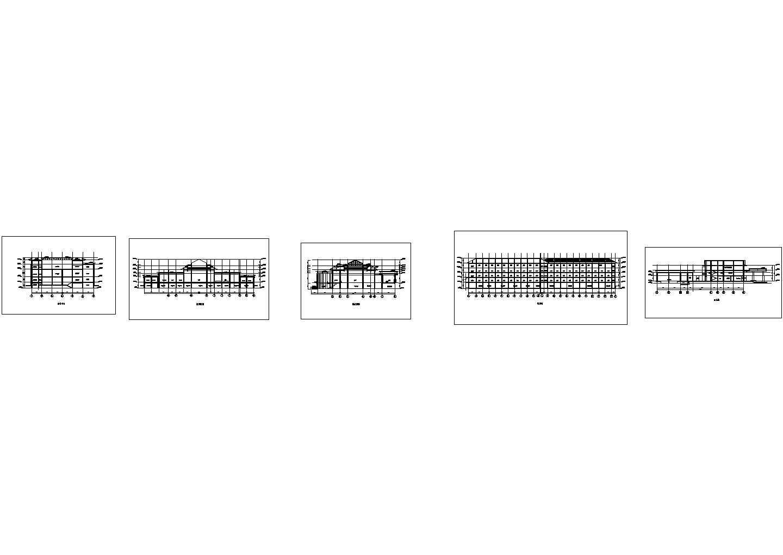 苏州温泉度假酒店内装修设计图纸含效果图图片1