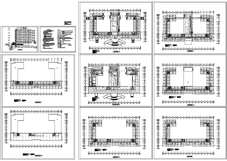 市府办公大楼火灾自动报警系统图设计图片1