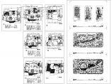 国外三层别墅规划设计方案建筑ccad图纸,共8张图片1