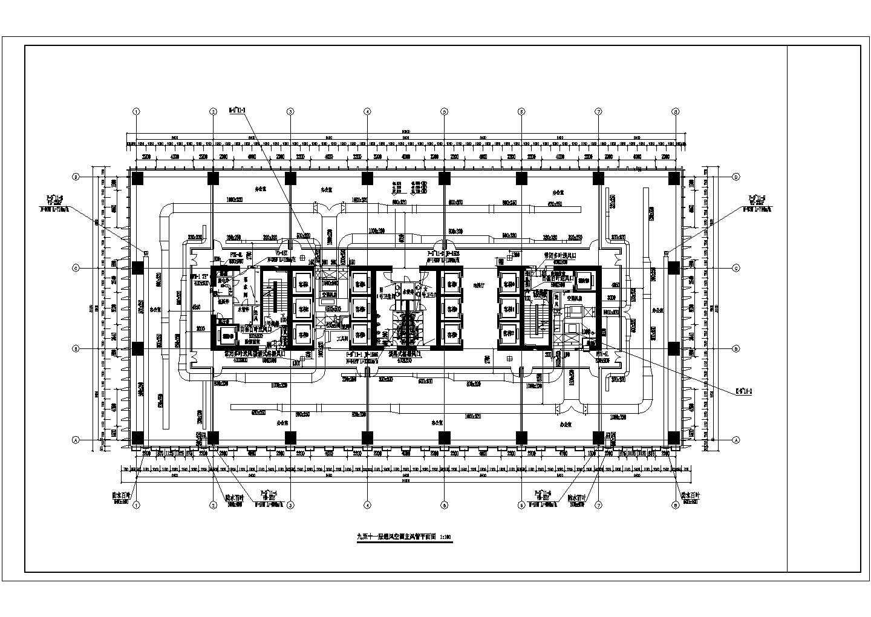 [广东]33层行政办公综合楼暖通空调通风排烟系统设计施工图图片1