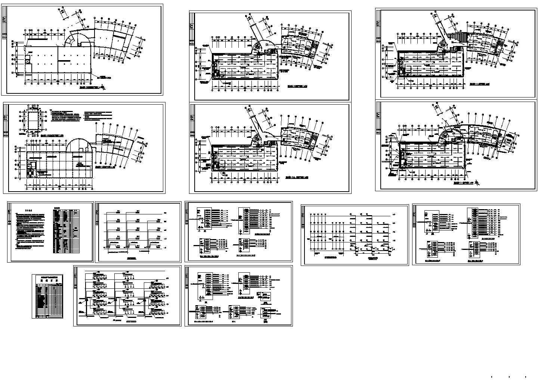 某5层办公楼电气设计平面图图片1