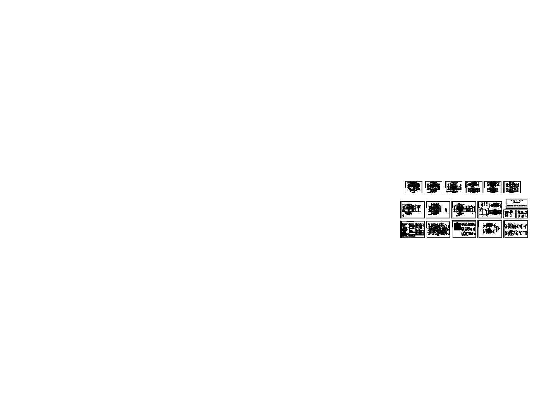 308.5平方米框架结构A型独立别墅建筑图纸(含设计说明)图片1