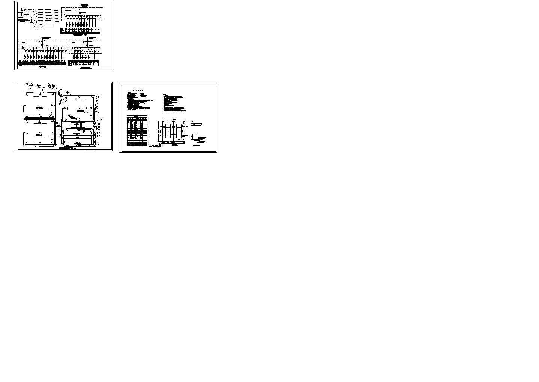 室外球场电气照明系统图图片1