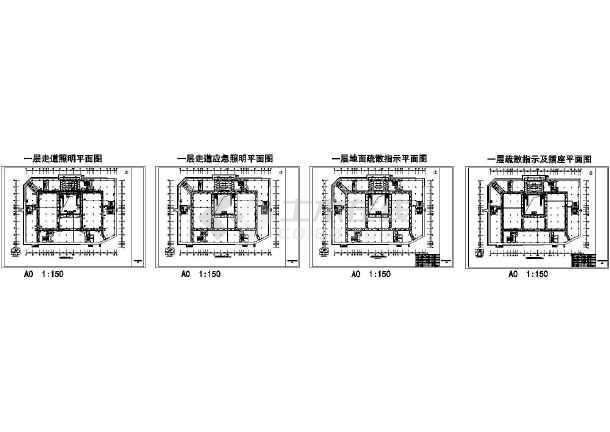 2018知名商场电气设计图纸(含装饰电气、审查意见回复)-图一