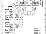 1楼2电梯12户单身公寓标准层户型平面图【(A1 A2 A3户型均为1室1厅1卫 面积42 46 50平米)(A4户型2室1厅1卫59平米)】图片1