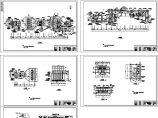 污水处理厂工艺建施cad图,共七张图片1