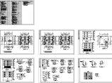 四层宿舍详细全套建筑图纸图片1