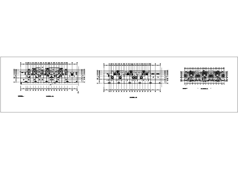 楼宇对讲系统建施cad图,共三张图片1