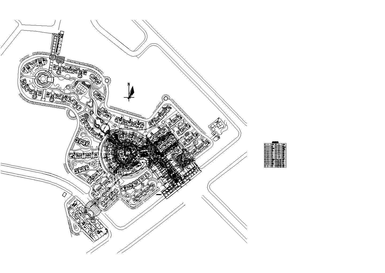 2019最新整理的CAD设计景观给排水平面图图片1
