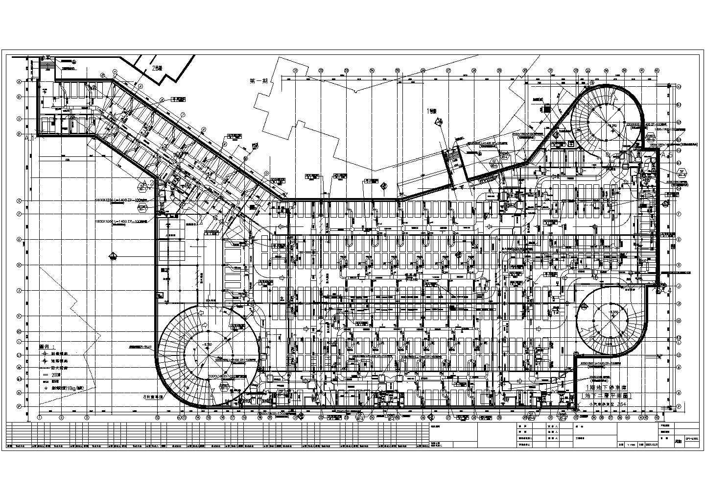 大型地下车库通风平面图片1