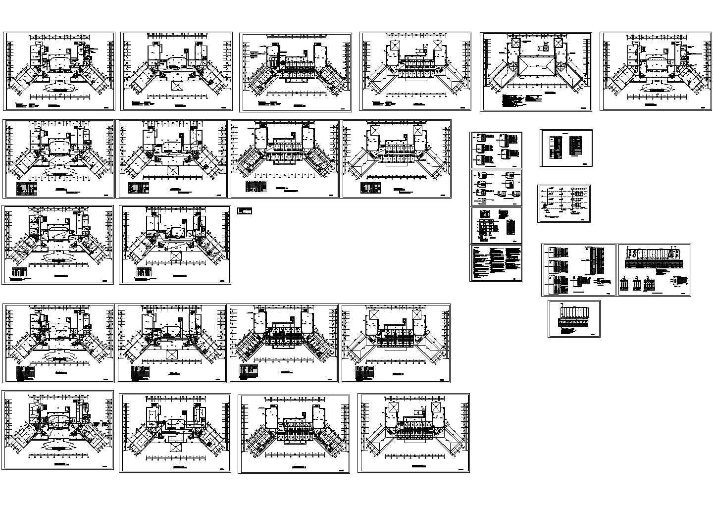 某4层会所电气设计图纸图片1