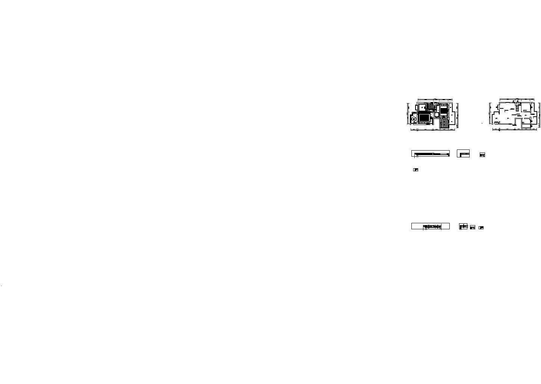 澜天售楼处CAD装修设计图纸+效果图图片1