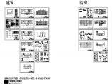 四层办公楼设计施工图(建筑结构CAD图纸、结构计算书、施工组织、施工进度计划表、施工平面图等)图片1
