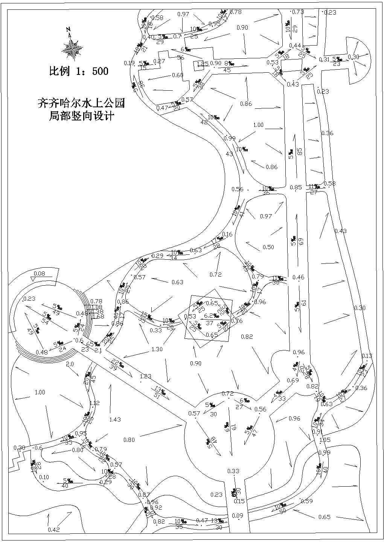 [黑龙江]水上公园园林设计方案图片1