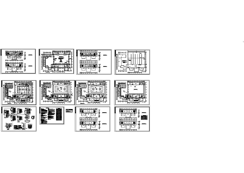 某活动中心电气施工图设计图片1