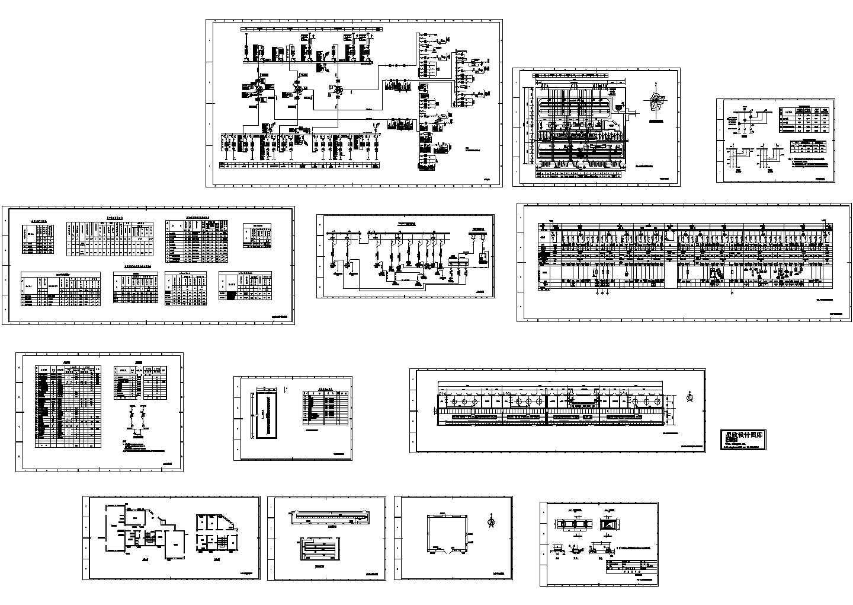 电站、变电所电气及设备07CAD图图片1