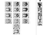 合肥某7700�O四层框架结构教学楼电气设计CAD图纸(高15.6米)图片1
