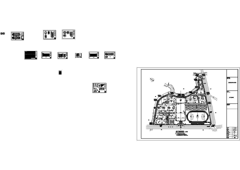 局部6层2868平米教学楼设计图纸图片1