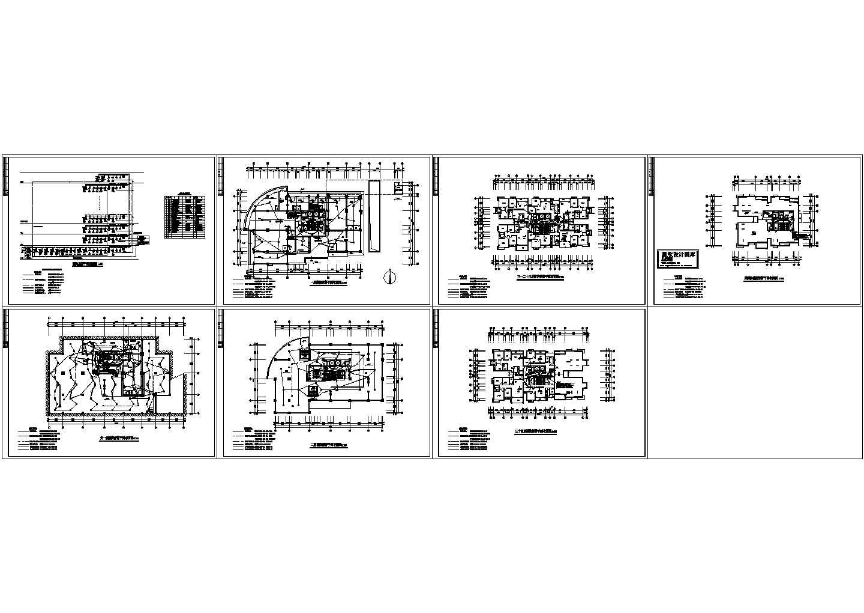 某24层建筑报警系统图纸设计图片1