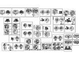 非常详细的12套别墅建筑设计方案图纸图片1