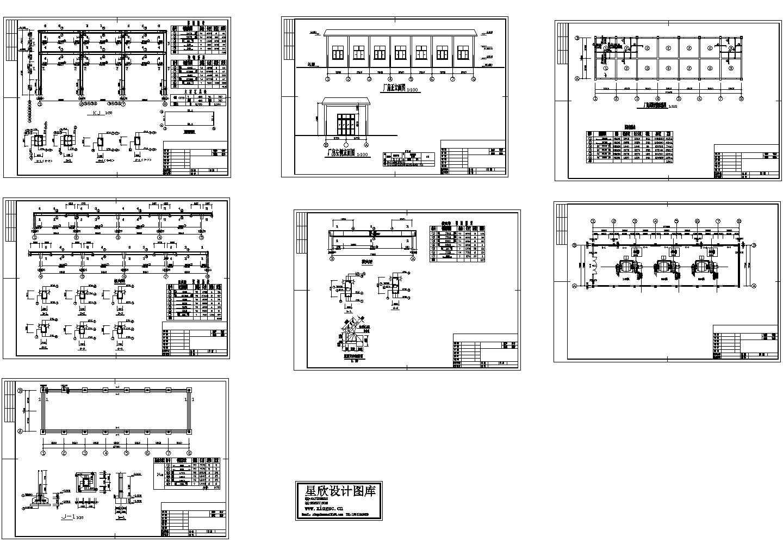 电站、变电所电气及设备10CAD图图片1