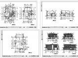 杭州绿城独立山地别墅设计施工大样图,共四张图片1