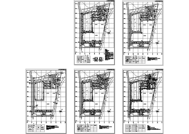 某厂区规划总平面图建筑设计CAD施工图图片1