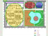 西南民族大学校园景观设计方案图片1