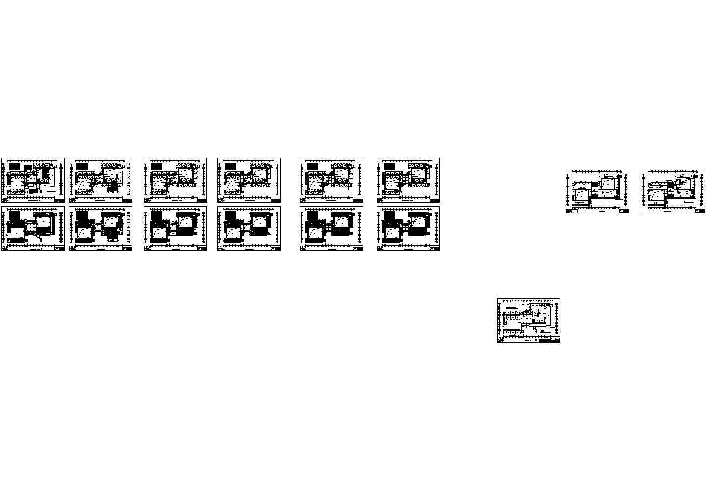 [山东]某3万平大学六层教学楼电气施工图纸(标注明细)图片1