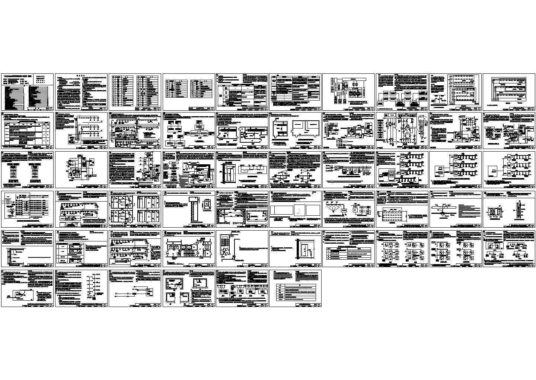 14x505 火灾自动报警系统设计规范图示 CAD图片1