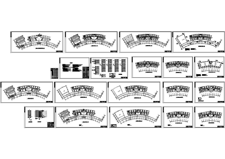 某六层办公楼电气全套设计图图片1
