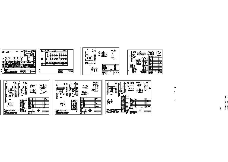 某厂房的电气原理图设计图片1