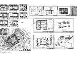 某综合楼采暖设计cad全套施工图(含建筑设计)图片1