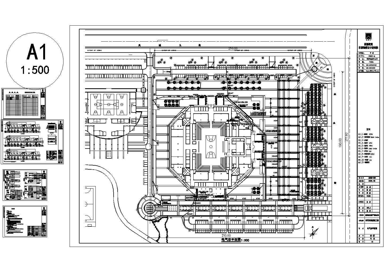 室外广场照明系统图设计图片1