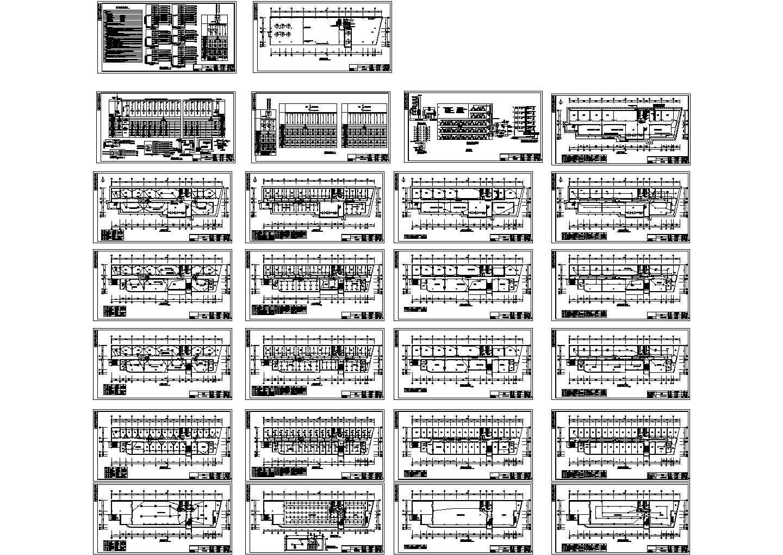 某地上五层办公楼电气设计CAD图(三级负荷)图片1