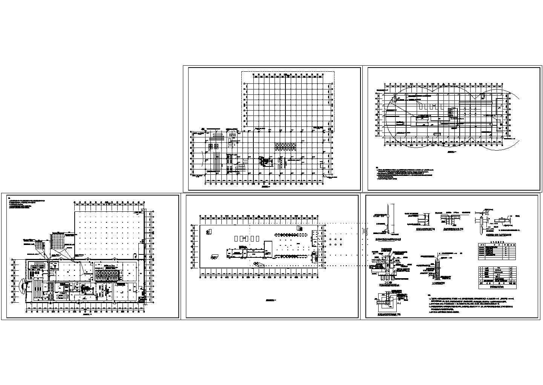 某厂房防雷施工设计图图片1