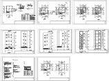 某五层690平方米钢结构厂房设计cad建筑施工图(含设计说明)图片1