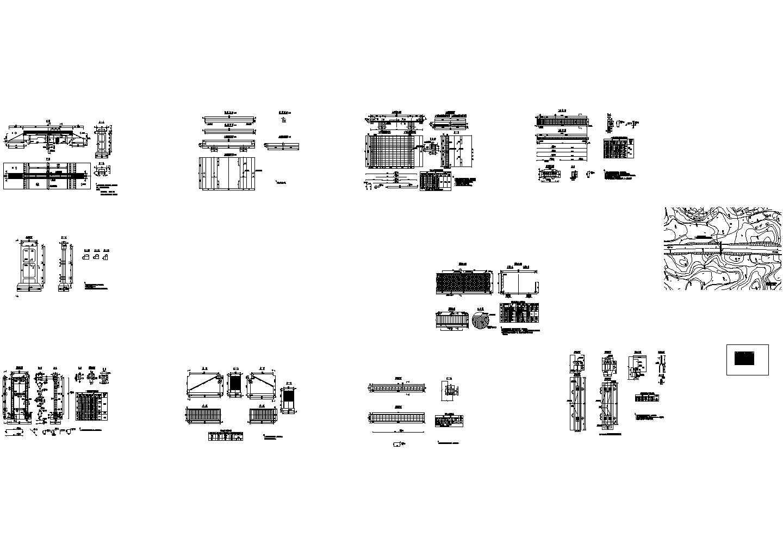 高速公路人行天桥设计图图片1