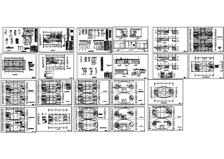 某二十六层办公楼电气施工图图片1