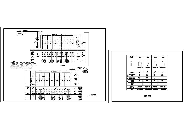 某别墅区高低压配电系统CAD图图片1