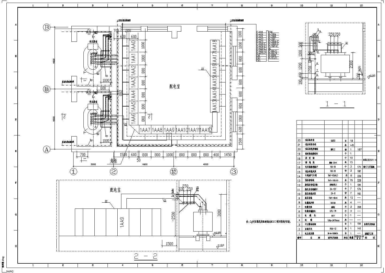 锅炉房配电平面图设计图片1