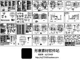 888.6平方米四层别墅建筑结构施工图纸(含设计说明)图片1