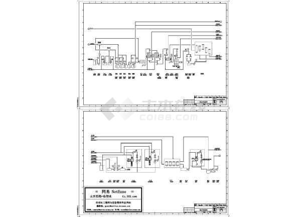 3000td洗毛废水处理管道及仪表流程图-图一