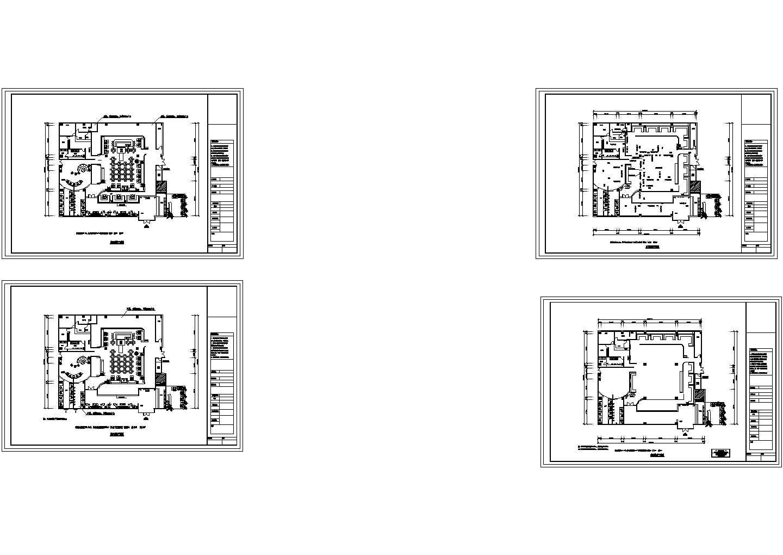 [云南]商业办公楼空调通风及防排烟系统设计施工cad图图片1