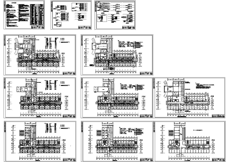 三层健身房电气设计图图片1