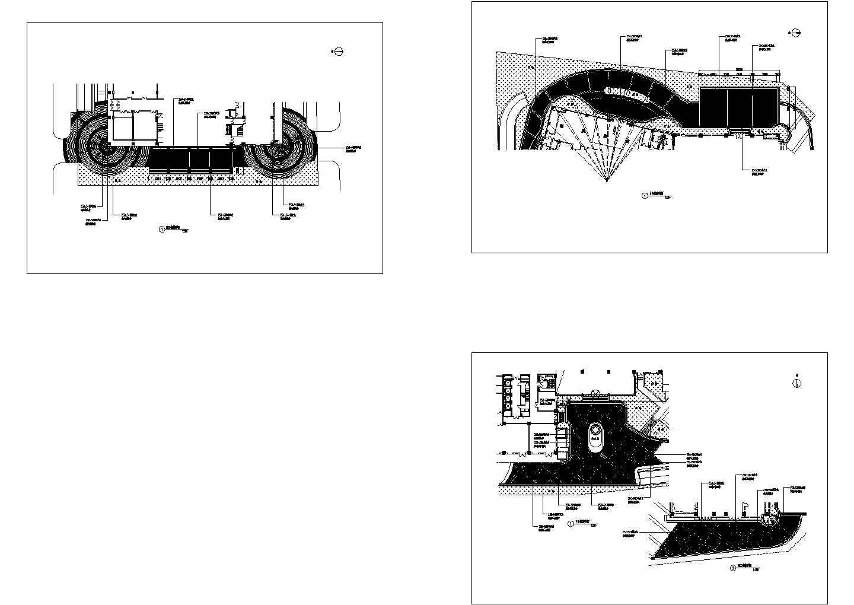 场地地面铺装平面详图图片1