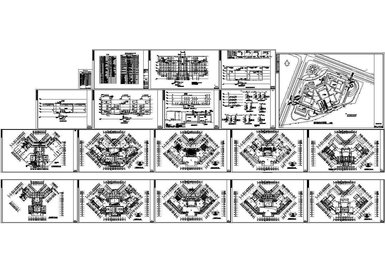 某地剧院给排水消防初步设计图(含图纸目录、共19张)图片1